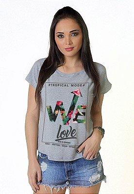 Camiseta Feminina Wevans WELOVE
