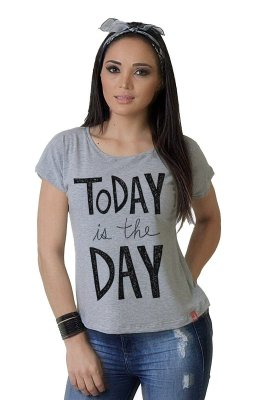 Camiseta Feminina Wevans TODAY