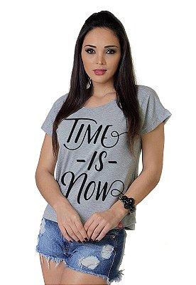 Camiseta Feminina WEVANS TIME IS NOW