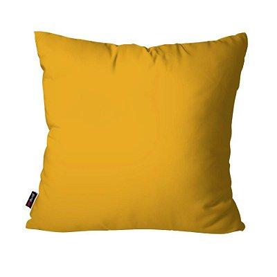 Almofada Avulsa Dec Amarelo 45cm x 45cm