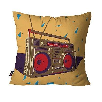 Almofada Avulsa Radio Music  45cm x 45cm