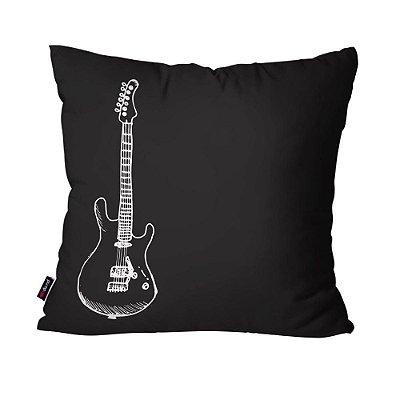 Almofada Avulsa Guitarra45cm x 45cm