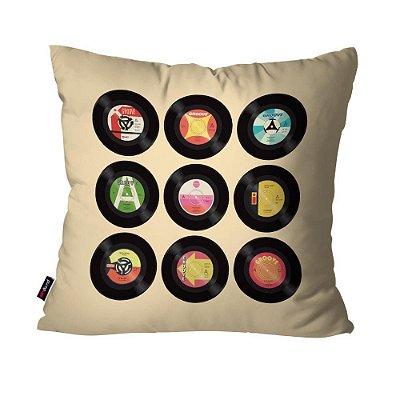 Almofada Avulsa Discos Colors  45cm x 45cm