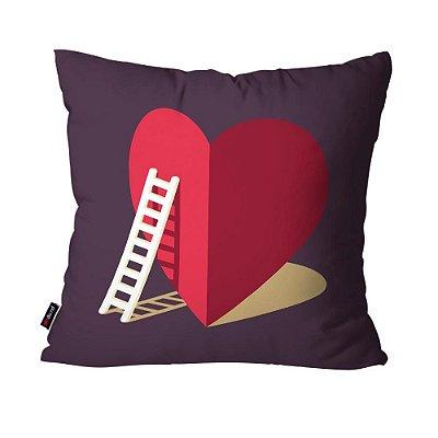 Almofada Avulsa Dec Love Cor 45cm x 45cm