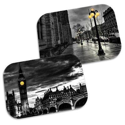 Kit 2 Tapetes Decorativos London 40cm X 60cm