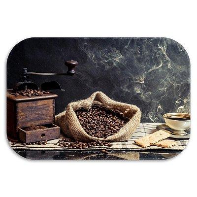 Tapete Decorativo coffee 40cm X 60cm