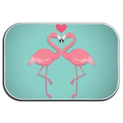 Tapete Decorativo Flamingos 40cm X 60cm