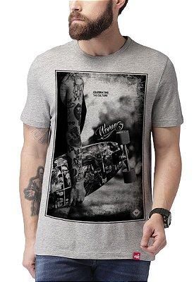 Camiseta Wevans  Skat Culture Cinza