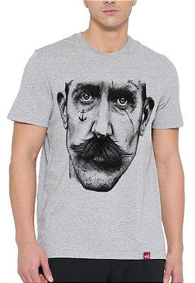 Camiseta Wevans  Marujo Tattoo Cinza