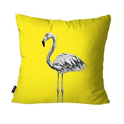 Almofada Avulsa Dec Flamingo  45cm x 45cm