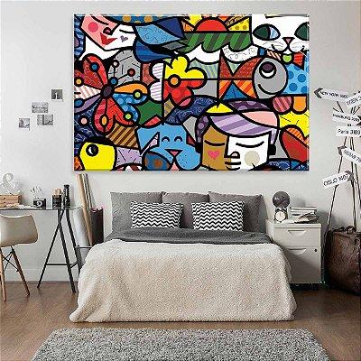 Tela Decorativa Multicolor