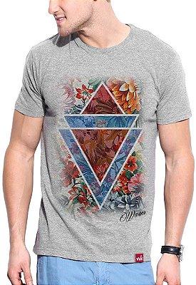 Camiseta Wevans Floral Geometric