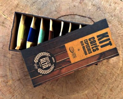 Kit Cafés Especiais - Cafés da Alta - Miniaturas 50g - Torrado em Grãos