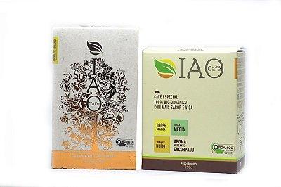 "Kit ""One Love"" - IAO Premium + IAO Especial - 100% Bio-Orgânico"
