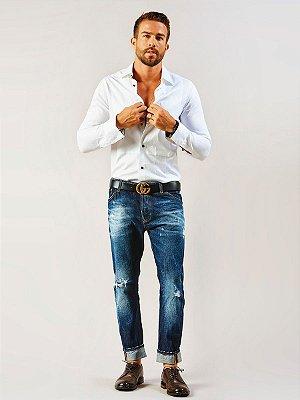 Calça Motor Oil Marost Jeans