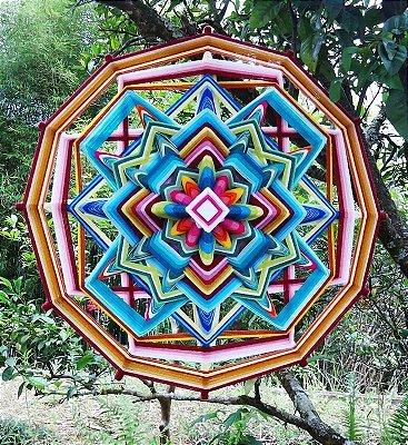 Mandala Flor de Primavera (65cm)