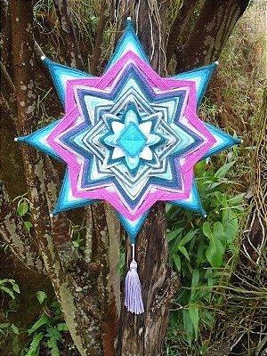 Mandala Estrela (30 cm)