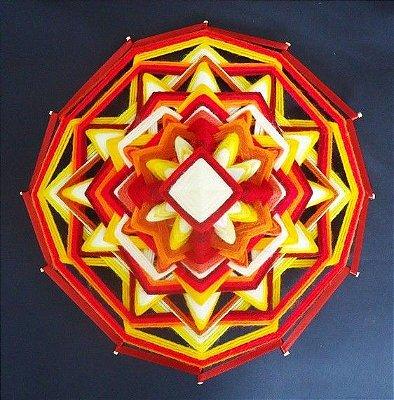 Mandala linda 12 pontas
