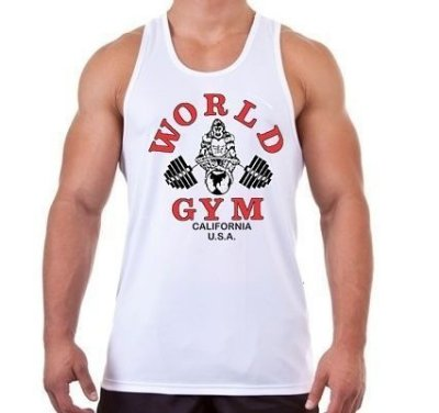 Camiseta Regata Masculina World Gym