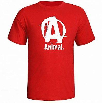 Camiseta Animal Letra A