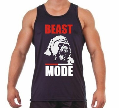 Regata Masculina Beast Mode