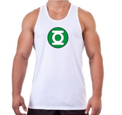 Regata Masculina Lanterna Verde