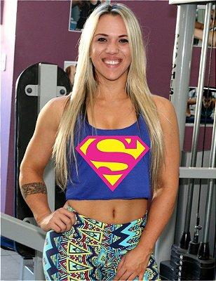 Regata Top Cropped Super Girl