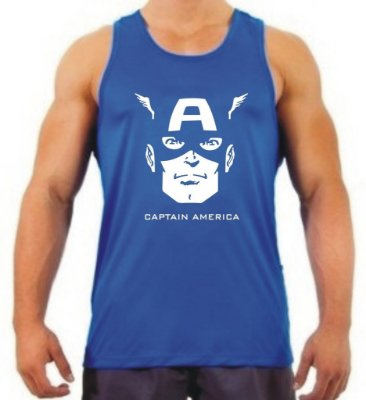 Regata Masculina Capitão América 3