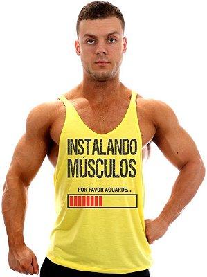 Regata Super Cavada Instalando Músculos