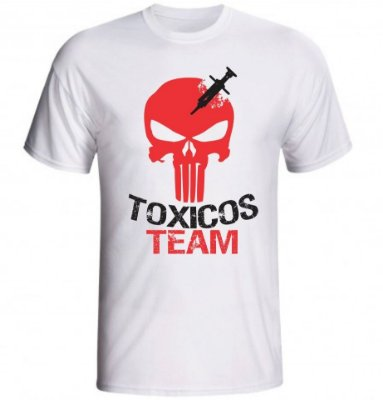 Camiseta Toxicos Team