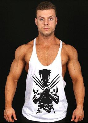 Regata Super Cavada do X-Men Wolverine com Branca