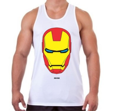 Regata Masculina Homem de Ferro