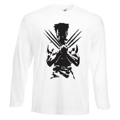 Camiseta Manga Longa Wolverine X-men