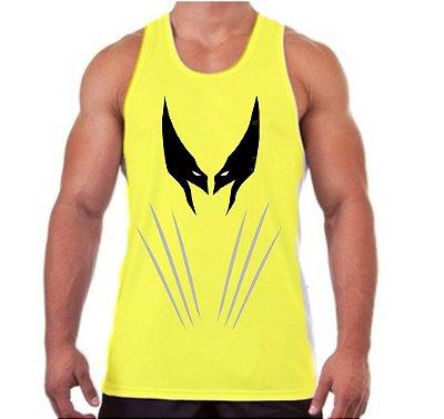 Regata Masculina Wolverine Mascara cor Amarela