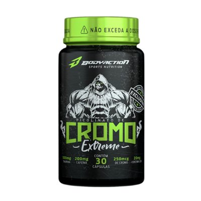 Cromo Extreme - 30 Caps - Bodyaction