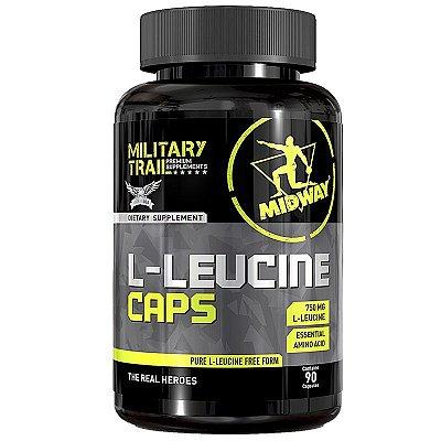 L-Leucine - 90Caps - Military Trail