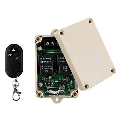Kit controle sem fio RF 433Mhz - 30A