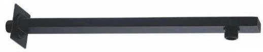 HASTE PARA DUCHA 40cm - BLACK MATTE - LX03B