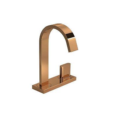 Torneira de mesa com chapa bica alta para lavatório - Polo -1191.GL33.RD
