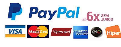 Paypal 6 x sem juros