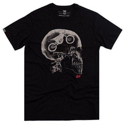 Camiseta Caveira Raio-X
