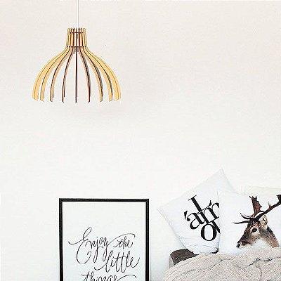 Lustre Pendente Luminária Bivolt - Modena