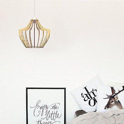 Lustre Pendente Luminária Bivolt - Milão