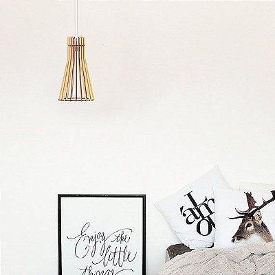 Lustre Pendente Luminária Bivolt - Verona