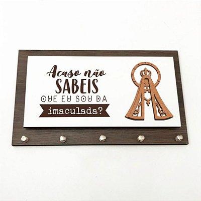 Porta Chaves e Cartas - Nossa Senhora Aparecida