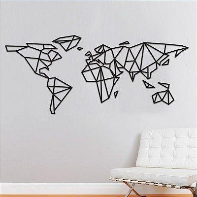 Mapa Mundi Geométrico