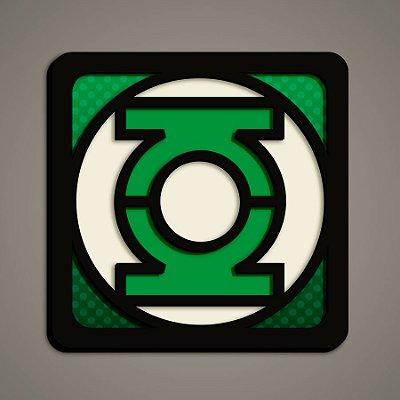 Quadro Herói 3D - Lanterna Verde