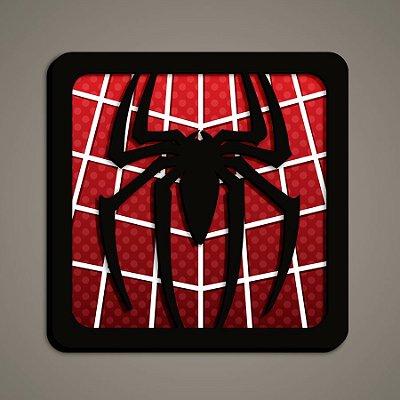 Quadro Herói 3D - Homem Aranha