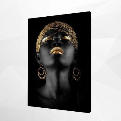 Quadro – Black & Gold Woman – 1