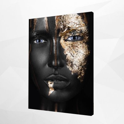Quadro – Black & Gold Woman – 4